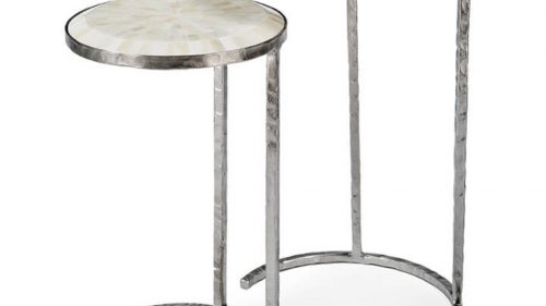 White Horn Nesting Tables