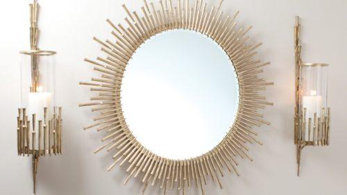 Spike-Mirror-Sconce